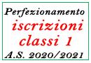 Perfezionamento iscrizioni classi 1